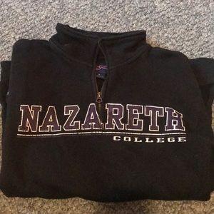 Black, Jansport, Nazareth College pullover